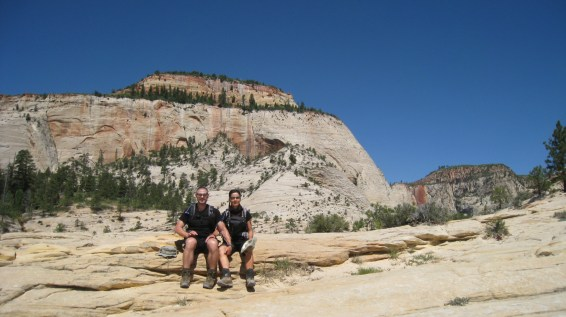 West Rim Trail - Zion National Park - Utah