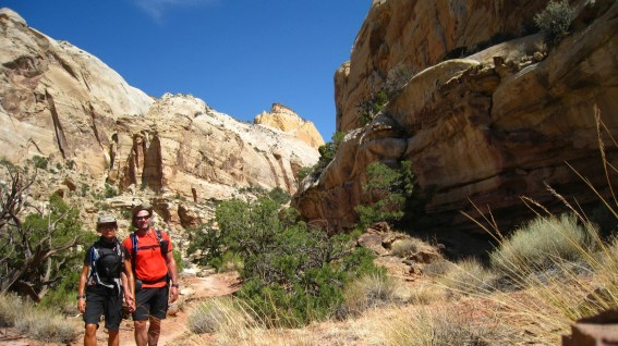 Capitol Gorge Trail - Capitol Reef National Park - Utah