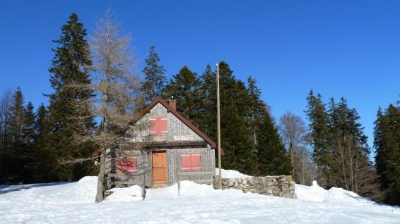 Cabane Rochefort - Vaud - Suisse