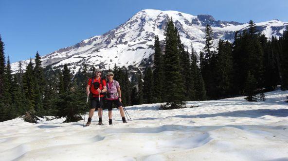 Nisqually Vista Trail - Mount Rainier National Park - Washington