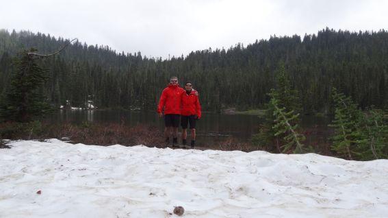 Reflection Lakes - Mount Rainier National Park - Washington