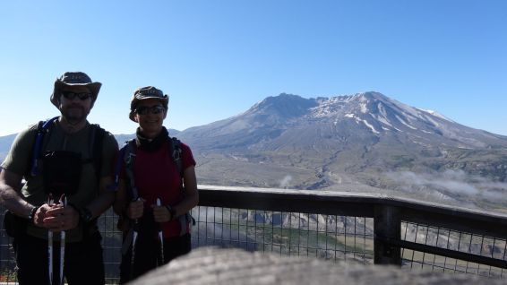 Johnston Ridge Observatory - Mount St Helens National Volcanic Monument - Washington