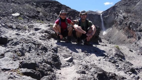 Loowit Falls - Mount St Helens National Volcanic Monument - Washington