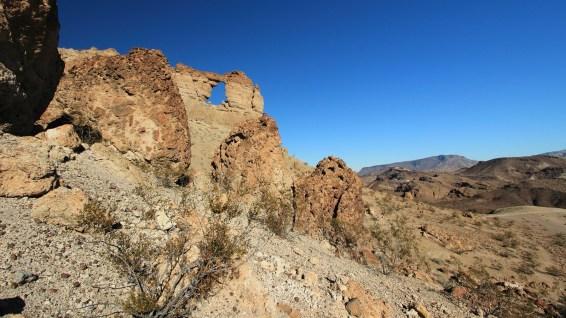 Liberty Bell Arch - Lake Mead NRA - Arizona - États-Unis