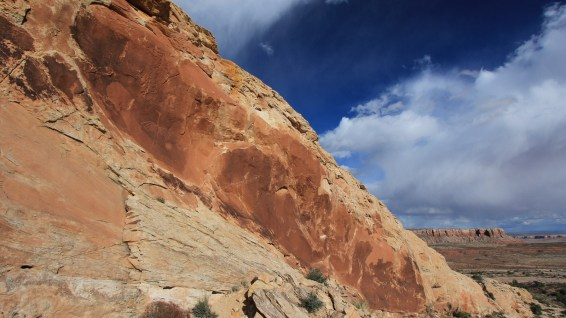 The Big Crane - Butler Wash - Cedar Mesa - Utah