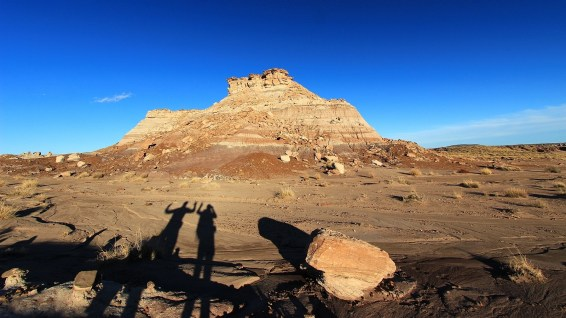 Red Basin - Petrified Forest National Park - Arizona