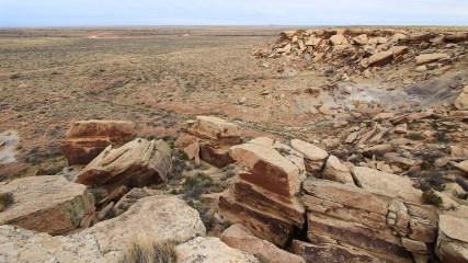 Newspaper Rock - Petrified Forest National Park - Arizona