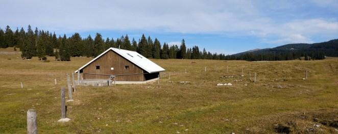 Couvert de la Plate-Forme - Le Chenit - Vaud - Suisse