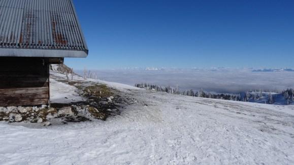 Couvert en contrebas du Mont Tendre - Vaud - Suisse