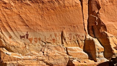 Horseshoe Shelter - Horseshoe Canyon - Utah