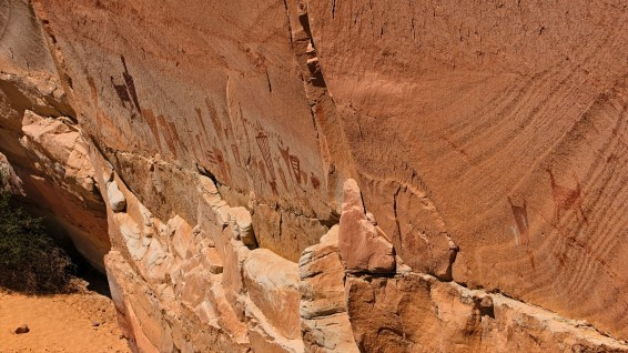Horseshoe Shelter - Horseshoe Canyon - Utah
