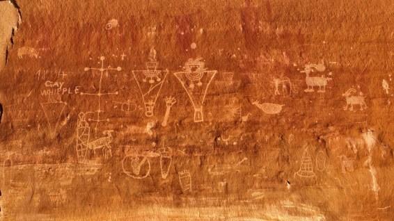 Sego Canyon Rock Art - Thompson - Utah - États-Unis