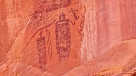 Snake in Mouth Panel - Seven Mile Canyon - Moab - Utah