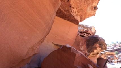 Lonesome Shaman Panel - Seven Mile Canyon - Moab - Utah