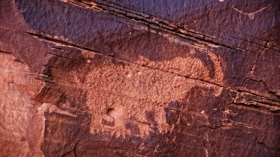 The Mastodon Panel - Moab - Utah