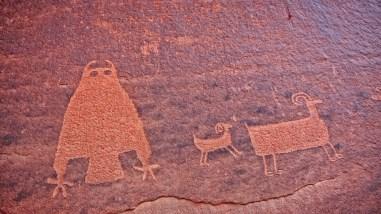 The Owl Panel - Amasa Back Trail - Moab - Utah
