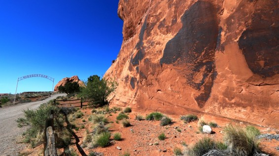 Golf Course Rock Art Site - Moab - Utah