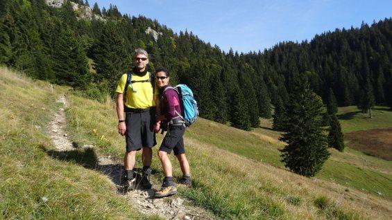 En sortant du Creux du Croue - Vaud - Suisse