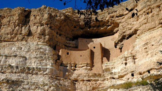Montezuma Castle National Monument - Yavapai County - Arizona