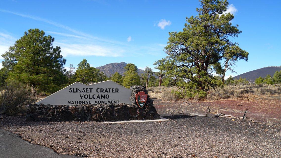 Sunset Crater Volcano National Monument - Arizona