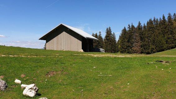 Couvert du Crêt à Pétaud - L'Abbaye - Vaud - Suisse