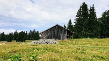 Couvert du haut de la Lande Dessus - Le Chenit - Vaud - Suisse