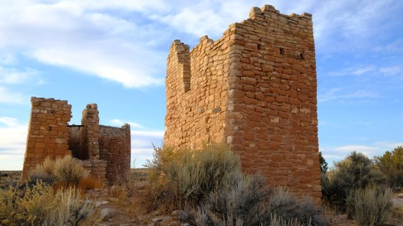 Square Tower Group - Hovenweep NM - Utah - États-Unis