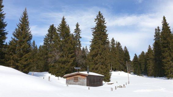 Cabane du Peney - Bassins - Vaud - Suisse