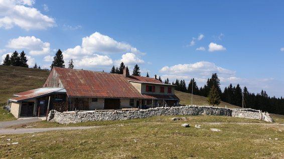Chalet du Grand Essert - L'Abbaye - Vaud - Suisse