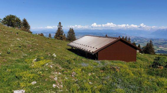 Couvert des Arruffens - Montricher - Vaud - Suisse