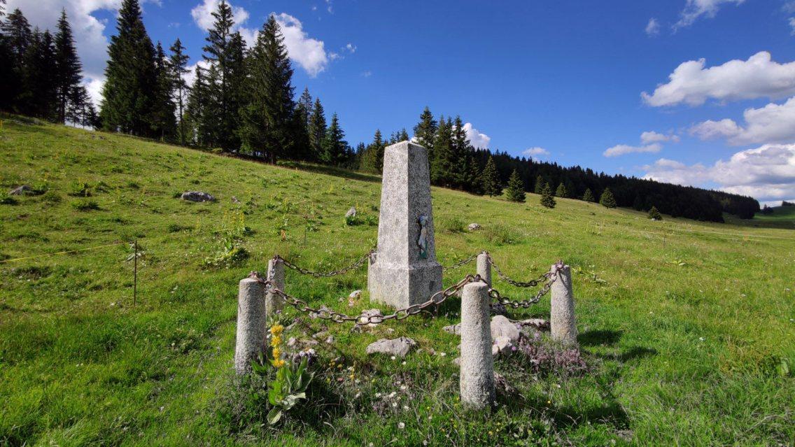 Tombe du soldat français - Le Chenit - Vaud - Suisse