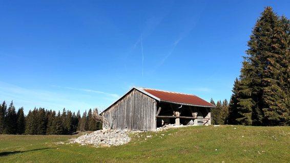 Couvert est de Lande Dessus - Le Chenit - Vaud - Suisse