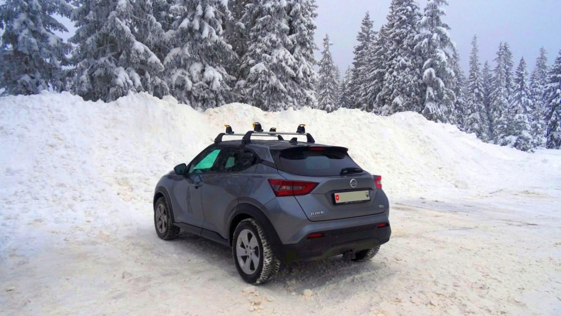Parking de la Grande Rolat - Le Chenit - Vaud - Suisse