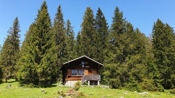 Cabane des Saules - L'Abbaye - Vaud - Suisse