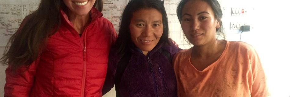 Beatriz with Thinlas Charol and Chuskit