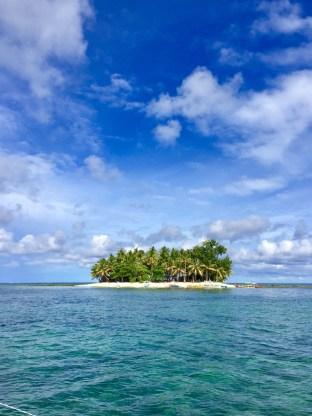 Arriving at Guyham Island