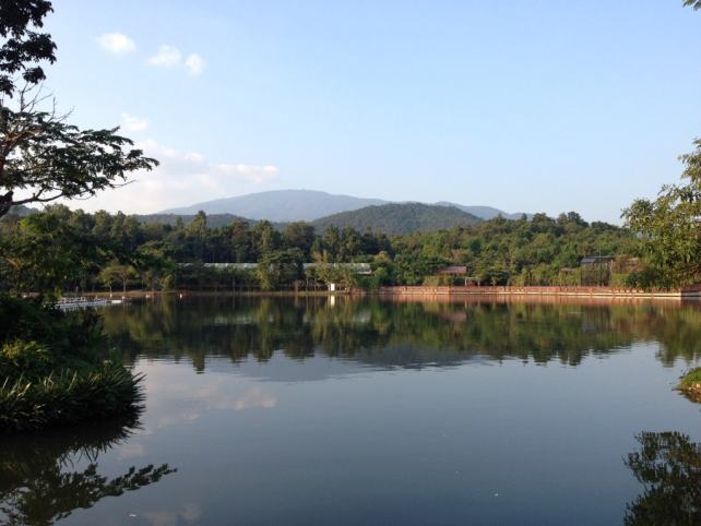 """Lake in the middle of the Night Safari - """"Quick Trip to Chiang Mai Thailand"""" - Two Traveling Texans"""
