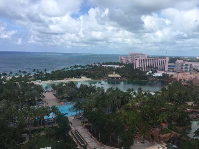 "The view from our room - ""The Secrets of Atlantis in the Bahamas"" - Two Traveling Texans"