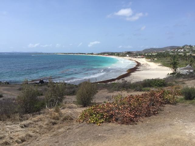 """View of Orient Beach from our vacation rental - """"Nude Beach Observations"""" - Two Traveling Texans"""