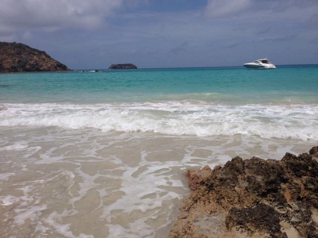 "The water at Saline beach was just perfect. - ""St. Barts for the Day - Two Traveling Texans"