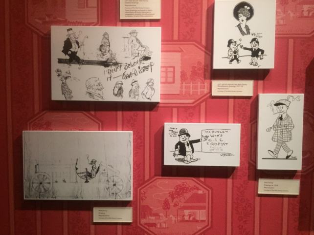 Some of Walts early drawings