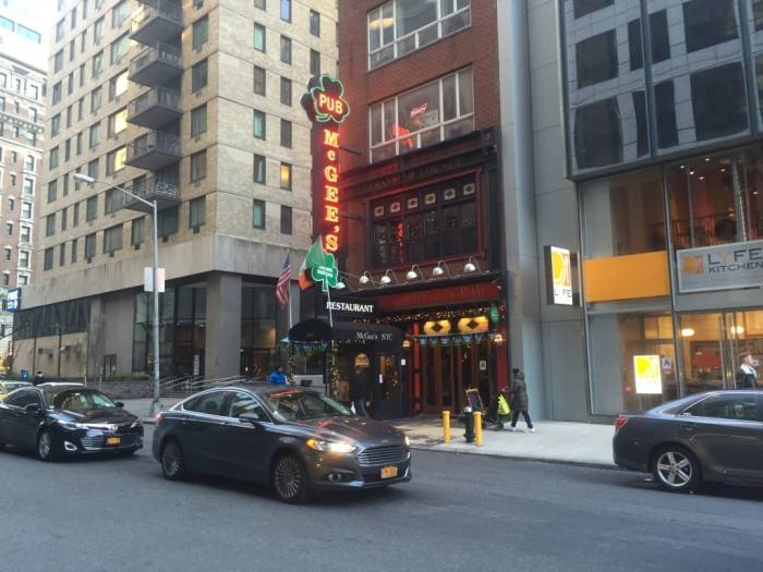 Your When Harry Met Seinfeld tour will start at McGee's Pub