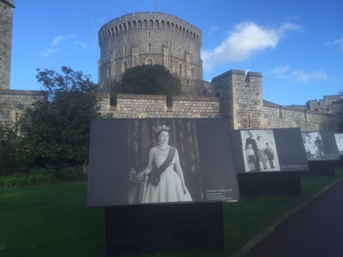 I really enjoyed the old portrait on display in Windsor Castle.