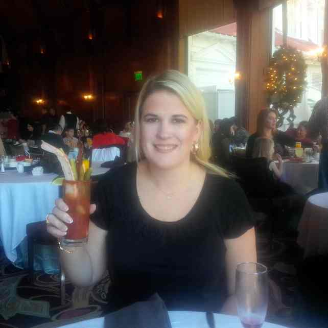 The Bloody Mary I created at brunch