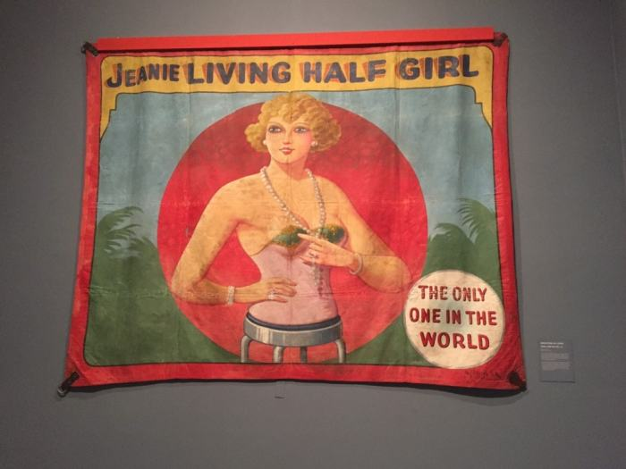 A banner from Coney Island