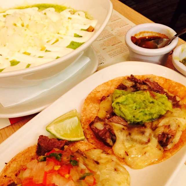 """The tacos and enchiladas at Lupita are excellent! - """"Mexican Food Finds in London"""" - Two Traveling Texans"""