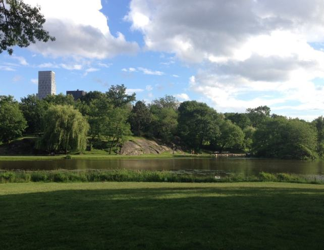 "The Harlem Meer on a beautiful summer day. - ""The Hidden Gems in Northern End of Central Park"" - Two Traveling Texans"