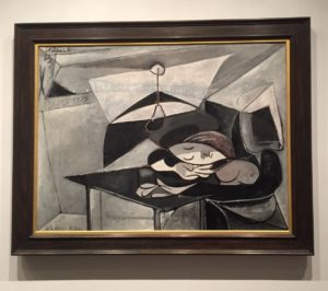 "Picasso's ""Woman Asleep at a Table"", 1936 from the Metropolitan Museum of Art - ""Barcelona's Picasso Museum: Not What You Would Expect"" - Two Traveling Texans"