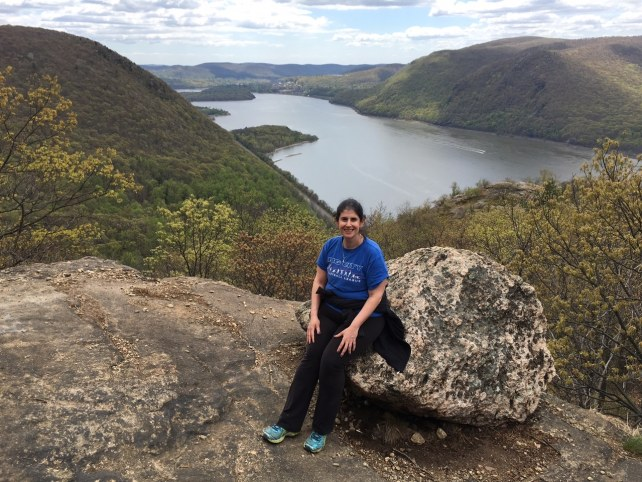 """Anisa taking a well-deserved break! - """"Breakneck Ridge Lives Up To Its Name"""" - Two Traveling Texans"""