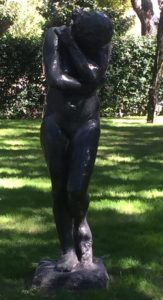 "Eve on display at the Nasher Sculpture Center - ""Rodin Around the World"" - Two Traveling Texans"